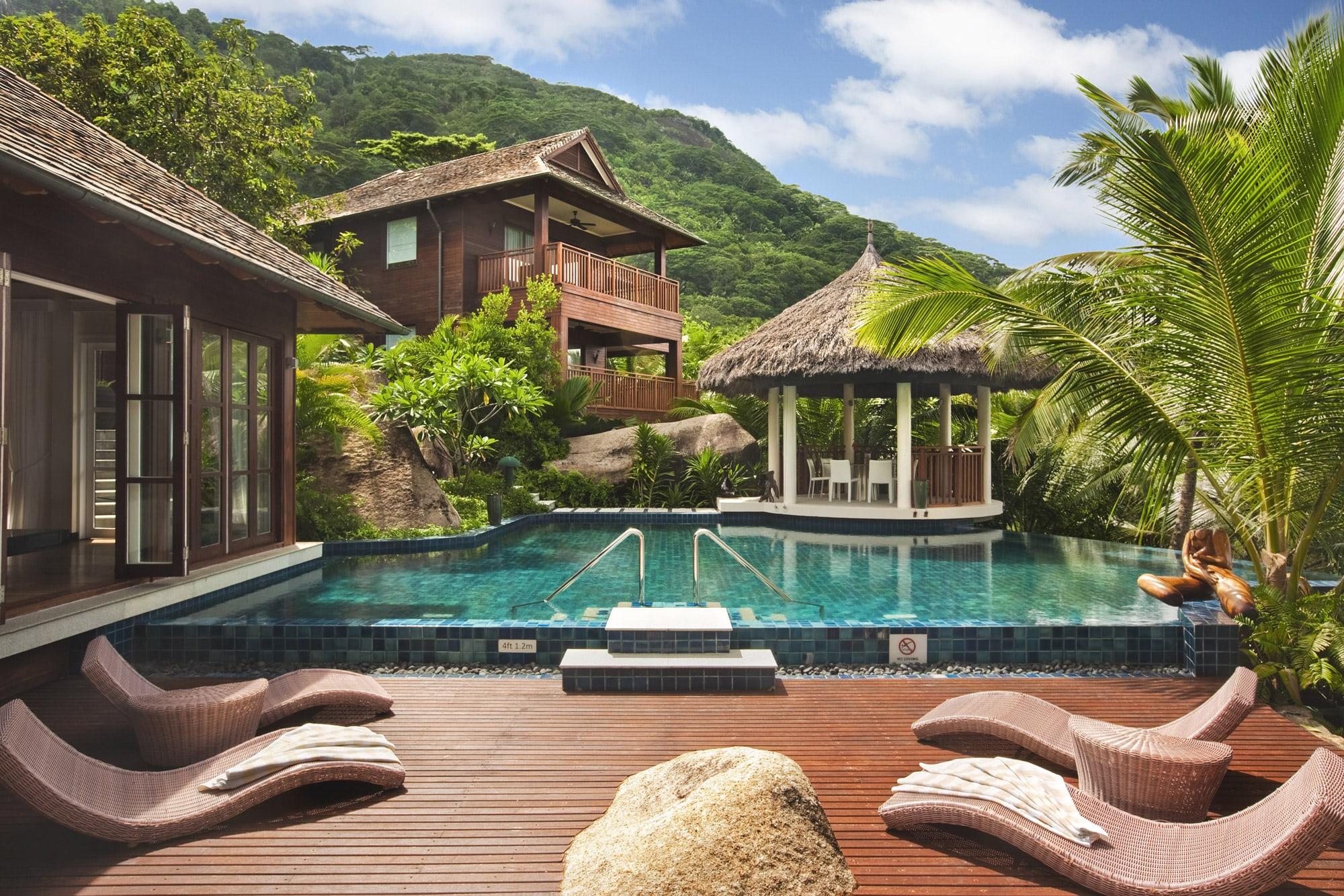 hilton seychelles labriz resort spa the seychelles. Black Bedroom Furniture Sets. Home Design Ideas